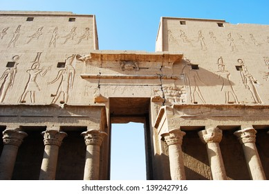 The great Temple of Edfu, Nubia, Egypt
