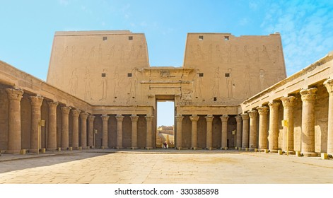 The great Temple of Horus is the best place in Upper Egypt to feel the spirit of the ancient times, Edfu.