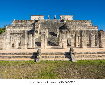 Great Temple of the Warriors is a spectacular structure comprised of a series of impressive columns, spacious patios and halls.