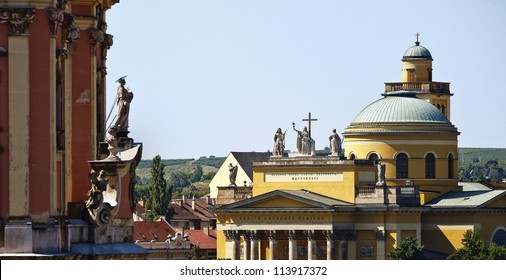 Great temples of Eger, Hungary