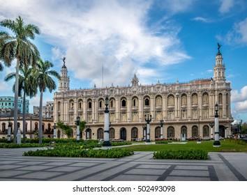 Great Theater (Gran Teatro) - Havana, Cuba