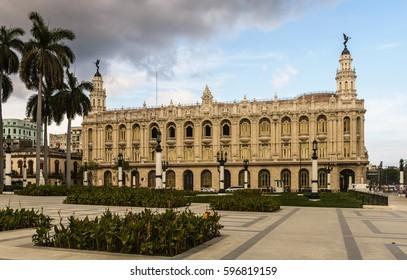 Great Theater in old town Havana Cuba