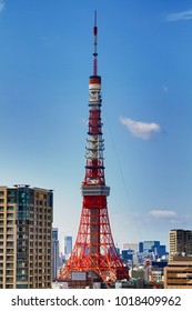 great tokyo tower in japan