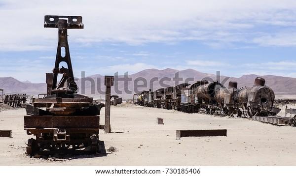 Great Train Graveyard – Uyuni, Bolivia