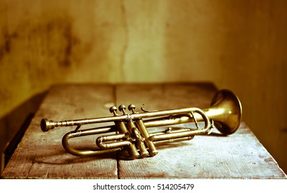 a great trumpet