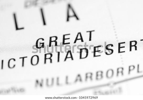 Map Of Australia Great Victoria Desert.Great Victoria Desert Australia On Map Stock Photo Edit Now 1045972969
