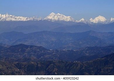 Great view of the Himalaya Mountains, Nepal