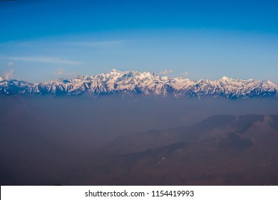 Great view of Himalayas from Daikund peak, Dalhousie