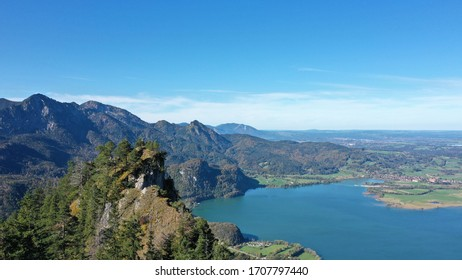 Great view of the kochelsee from above