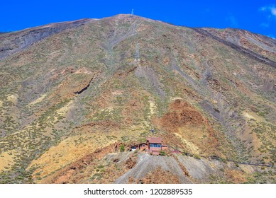 Great view in Las Cañadas del Teide National Park.  Tenerife. Canary Islands.