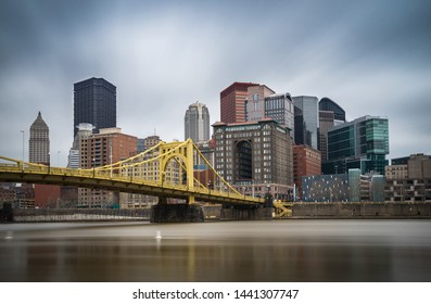 Great View of Pittsburgh, Pennsylvania, USA