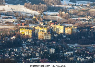 great views of the beautiful Beskid Slaski from Rownica