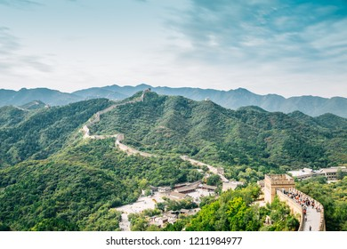 The Great Wall in Beijing, China