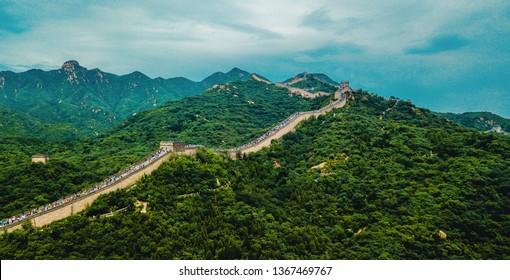 Great wall of China, China, Asia
