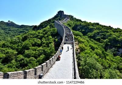 Great Wall of China. Jinshanling.