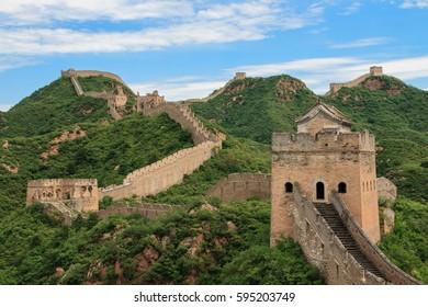 Great Wall of China. Simatai, China.