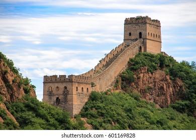 Great Wall of China in Simatai, China.