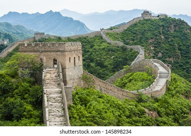 Great Wall in Jinshanling, Hebei of China