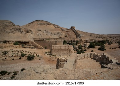 Great Wall Of Ranikot Fort, In Sindh, Pakistan