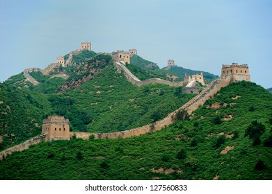 Great Wall in Simatai area,  about 120km from Beijing.