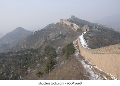 Great Wall skyline in Badaling near Beijing, China