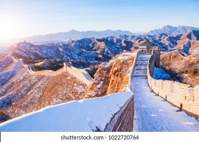 Great Wall snow scene