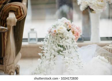 Great wedding decor for the wedding ceremony.