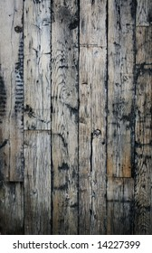 Great wooden background with lots of character