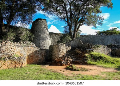 Great Zimbabwe is a medieval city in the south-eastern hills of Zimbabwe near Lake Mutirikwe and the town of Masvingo.