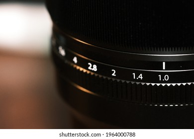 A greatest aperture 50mm lens from Fujifilm.