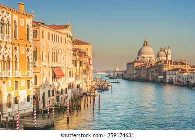 Greatest place of love and beauty of art on the ground in Venice, Italy
