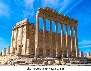Greco-Roman ruins of Palmyra, Syria. UNESCO World Heritage