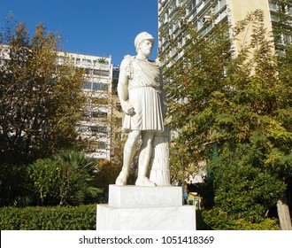 Greece, Athens, monument to Pericles
