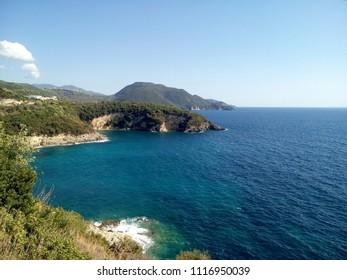 Greece, coast of Ionian Sea
