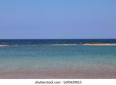 Greece Corfu beautiful spring sea
