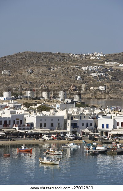 Greece. Cyclades Islands. Mykonos.