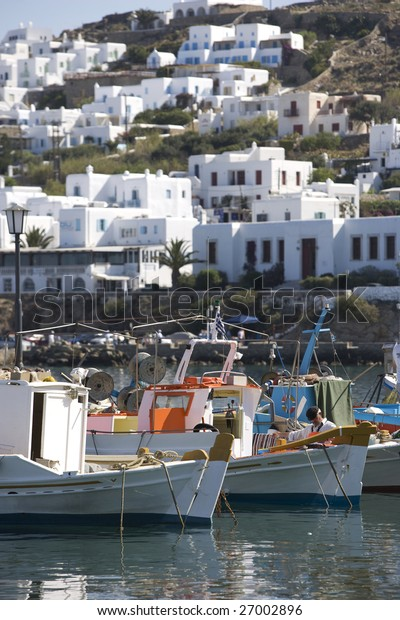 Greece. Cyclades Islands. Mykonos.