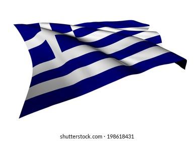 Greece flag - collection no_5