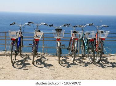 Greece, Kos, bicycles