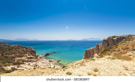Greece, Kos island, view to Paradise Beach