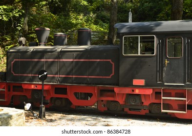 Greece, locomotive of the Moutzouris-Smudgy train