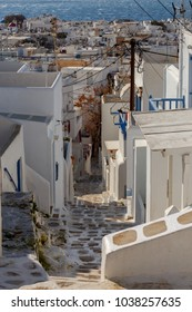Greece. Mykonos. Typical architecture.