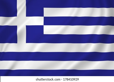 Greece national flag background texture.