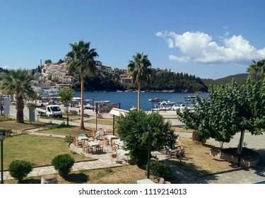 Greece, port in Sivota