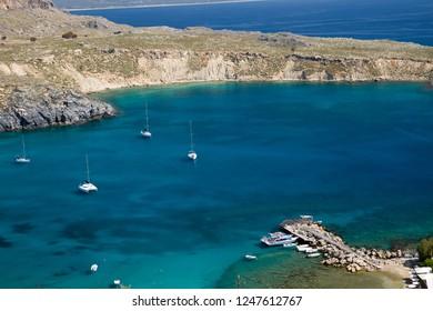 greece sea in rodos