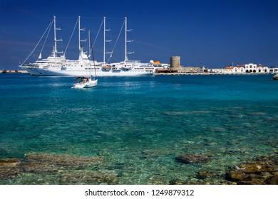 greece sean in the isle of rodos