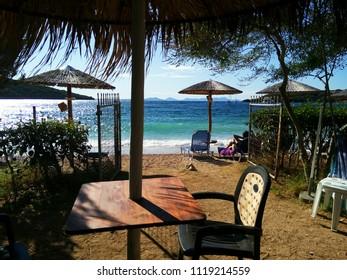 Greece, Sivota,  beach