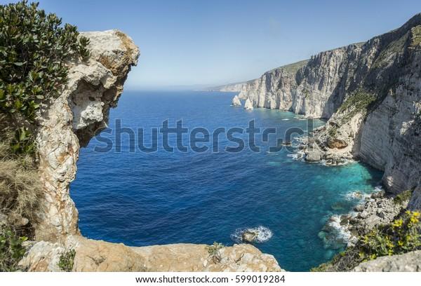 Greece wild westcoast