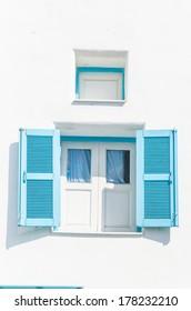 Greece window santorini style