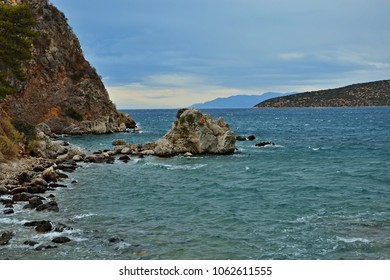 Greece-coast near the town of Tolo